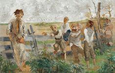 Jacek Malczewski, WSPOMNIENIE MŁODOŚCI, ok. 1885 - 1890 Auction, Painting, Art, Polish Language, Painters, Art Background, Painting Art, Kunst, Paintings