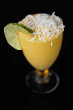 food + words | recipes. stories. life, from scratch. » mango coconut daiquiri.