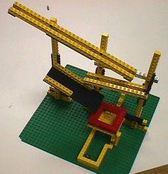Knikkerbaan vam Lego- Marble run legos