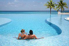 Le Blanc Spa Resort in Cancun. Is this invitingly beautiful or what? ASPEN CREEK TRAVEL - karen@aspencreektravel.com