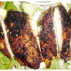 This blackened chicken recipe is easy to make and absolutely delicious. Healthy too!