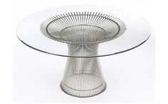Platner Dining Table Kitchen nook in case you decide to take existing upstairs.  :)
