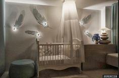 Интерьер комнаты для новорожденного малыша
