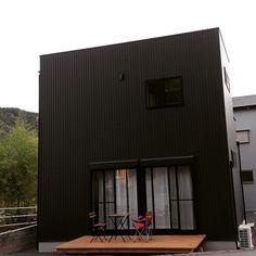It's,Cube. #ガルバリウム#ウッドデッキ#新築