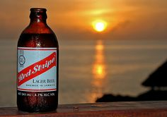 Watched a Jamaican sunset & maxed out on two dollar Red Stripes
