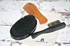 Marbeian Beard & Moustache Brush Travel Kit Beard Game, Beard Brush, Male Grooming, Travel Kits, Moustache, Beards, Lifestyle Blog, Fashion Beauty, Mustache