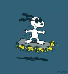 Snoopy made the hover board cool.