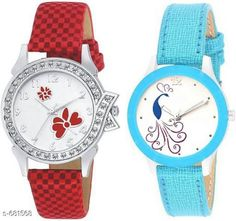 Watches Stylish Women's Watch (Set Of 2)  Material: Synthetic Leather Size: Free Size Description: It Has 2 Pieces Of Watch Country of Origin: India Sizes Available: Free Size *Proof of Safe Delivery! Click to know on Safety Standards of Delivery Partners- https://ltl.sh/y_nZrAV3  Catalog Rating: ★4 (4322)  Catalog Name: Free Gift Clalssy Ladies Watches Combo Vol 1 CatalogID_77323 C72-SC1087 Code: 722-681568-