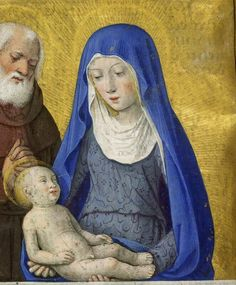 Virgin and Child with Joseph. Harley