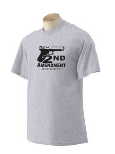 2nd Amendment Security Tshirt. For that proud gun owner in your life.tee tsirt apparel