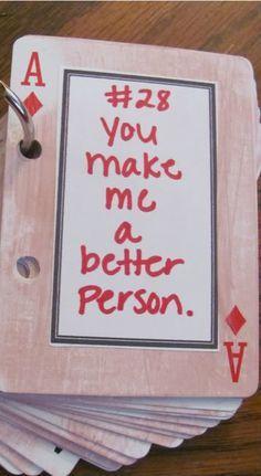 52 Reasons I Love You book, such a cute idea!!