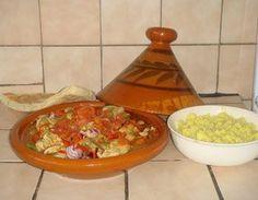 Tajine (kalkoenstoofvlees/paprika/champignon/tomaat) Tagine Recipes, Guacamole, Crockpot, Slow Cooker, Paleo, Good Food, Food And Drink, Menu, Mexican