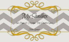 My Sandbox:  Stamping Blog