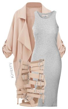 """Untitled #1733"" by kimberlythestylist ❤️ liked on Polyvore featuring Glamorous and Giuseppe Zanotti"