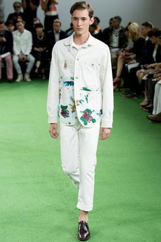 Junya Watanabe Spring 2014 Menswear Collection Slideshow on Style.com
