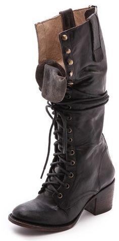 FREEBIRD by Steven Granny Tall Combat Boots