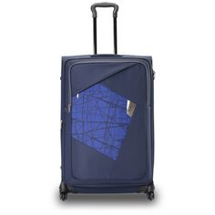9511d779c7 Vegas 4 Wheel Strolly Large Blue Bags Blue Bags