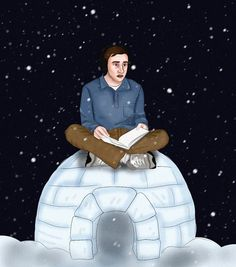 """""""Sometimes i wish it would snow and just never stop snowing."""" ❄️❄️❄️❄️❄️❄️❄️ Sam Gardner from Atypical. *Fan-made illustration Movies Showing, Movies And Tv Shows, Series Movies, Tv Series, Casey Atypical, Brigette Lundy Paine, Netflix Original Series, Netflix Series, Anne With An E"""