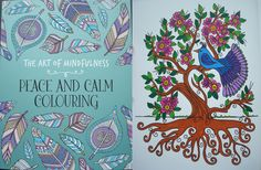 The Art Of Mindfulness Peace And Calm Colouring By Michael OMara