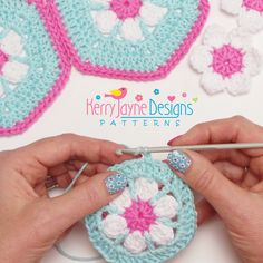 New Crochet Pattern release! The Doris Daisy Blanket!
