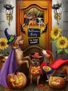 """""""The Halloween Party"""" by Thomas Wood"""