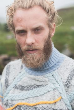 'Fisherman' Cable Jumper Suzanna James Knitwear Photo Credit: Matt Honey Photography
