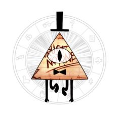 wait... so i was thinking, bill is from ''the dreamscape''.... wich is probebly the 4 dimention, and sinds things look diverend in dimentions for ecample an circle in 1, and schaded ball in 2, and rouwnd ball in 3... bill is probebly looking diverend in his dimention... wich meens that the fancy looking dorito is not how he realy looks....