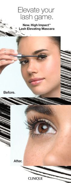 fd254d04cd1 Elevate your lash game. Lashes stay lifted all day long with NEW Clinique  High Impact
