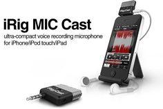 iRig MIc Cast, micrófono profesional para el iPhone  $40