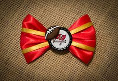Tampa Bay Bucs Football Hairbow