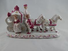 Large and Ornate Vintage Cinderella Carriage Figurine, Circa 1950s by SlyfieldandSime on Etsy