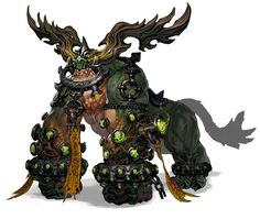Monster Design - Characters Art - Blade Soul