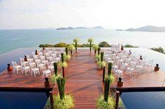Phuket Wedding at Baba Nest with 360 degree views