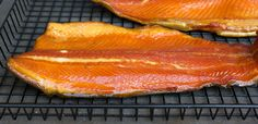 Smoked Rainbow Trout - Fish smoked in the Bradley Smoker - Smoked rainbow trout done in the Bradley Smoker. Dry brined with brown sugar, salt and spices and smoked with alder wood. Trout Fillet Recipes, Rainbow Trout Recipes, Fish Recipes, Seafood Recipes, Smoked Salmon Recipes, Smoked Trout Brine Recipe, Bradley Smoker, Bbq, Smoked Fish