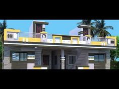 Top Good Home Design Ideas — Home Design Ideas House Front Wall Design, House Balcony Design, Single Floor House Design, House Outside Design, House Gate Design, Village House Design, Bungalow House Design, Small House Design, 3d Home Design