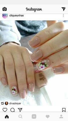 Unas febrero French Acrylic Nails, French Tip Nails, Gorgeous Nails, Pretty Nails, Nail Polish Designs, Nail Designs, Bubble Nails, Luxury Nails, Creative Nails