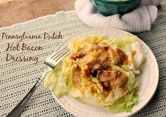 We're going Dutch today with the flavors of sweet and sour in a Pennsylvania Dutch Hot Bacon Dressing. To Read More, Click On The Recipe Title. Pennsylvanians love the flavor of sweet and sour that has been given to us by the Mennonite and Amish communities know as Pennsylvania Dutch. We have had the delight...Read More »