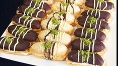 En Pratik Ekler Tarifi (pastahane üsülü ) 🌸bera TATLİDUNYASİ - YouTube Copycat Recipes, Caramel Apples, Sushi, Diy And Crafts, Food And Drink, Sweets, Ethnic Recipes, Desserts, Youtube