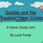 This is a packet that I created that aligns with the Common Core Standards. It covers the following concepts while reading Sadako and the Thousand ...