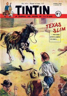 Le Journal de Tintin - Edition Belge - N°  330 - 1953-02 - Mercredi 14 Janvier 1953 - Couverture : Paul Cuvelier