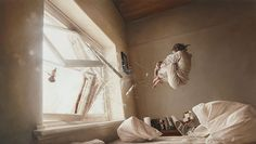 Jeremy Geddes Hyperrealistic Paintings