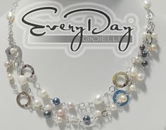 Quando l'eleganza non ha limiti..  #Everyday condivide in anteprima con i suoi #Fan la collana fantasy in #argento e #perle naturali. $214,00