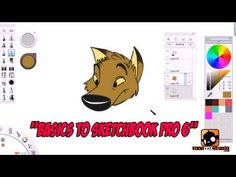 Basics to Sketchbook Pro 6 for Beginners Tutorial - YouTube