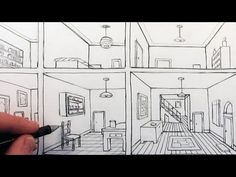How to Draw Stairs Step by Step in Two Point Perspective - YouTube