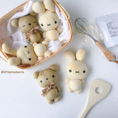Miffy & bear bread buns
