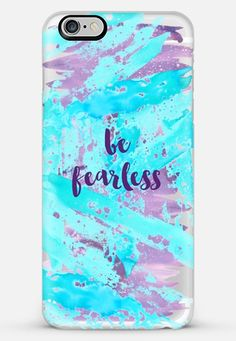 be fearless- transparent iPhone 6 Plus case by Sylvia Cook | Casetify *** get…