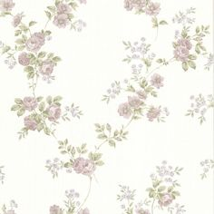 Brewster Home Fashions La Belle Maison Lush x Floral and Botanical Embossed Wallpaper Color: Rose Botanical Wallpaper, Rose Wallpaper, Decoupage, Beacon House, Wallpaper Fofos, Brewster Wallpaper, Brick Wallpaper Roll, Wallpaper Stores, Embossed Wallpaper