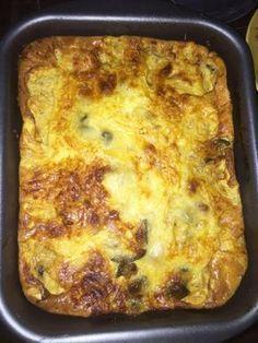 courgette, aubergine, tomate, oignon, ail, thym, oeuf, crème fraîche liquide, comté