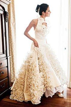 #SilviaTcherassi Gorgeous Wedding Dress