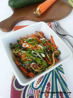 Easy Cucumber Kimchi Salad